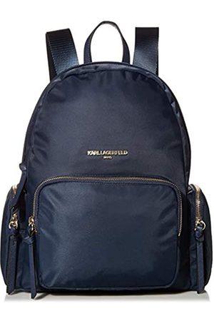 Karl Lagerfeld Paris Damen CARA Nylon Multi-ORG Backpack Rucksack