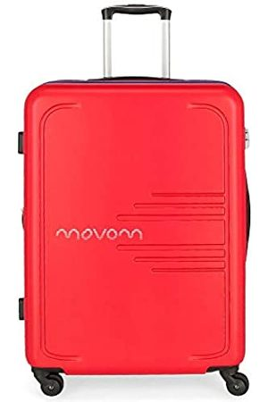 MOVOM Flash Großer Koffer 56x79x33 cms Hartschalen ABS Kombinationsschloss 125L 4