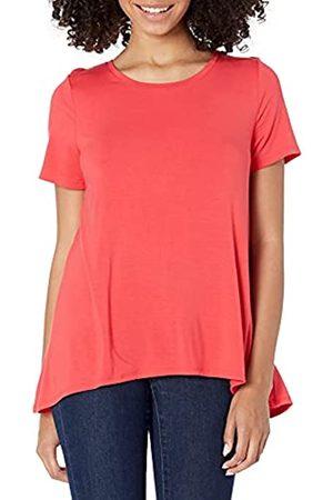 Amazon Damen Shirts - Damen-T-Shirt mit U-Ausschnitt