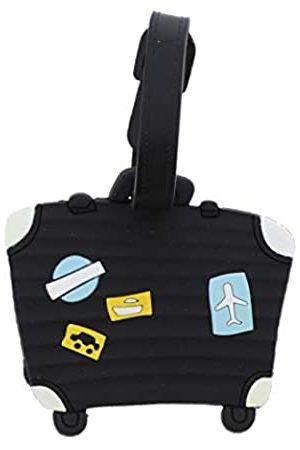SandT Collection Kofferanhänger für Reisegepäck - STLT0038BK