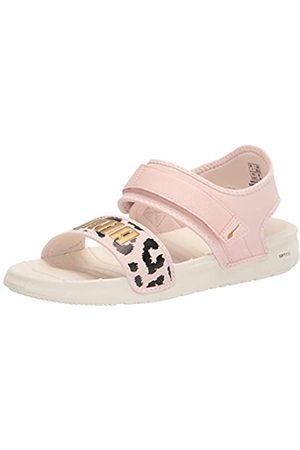 PUMA Damen SOFTRIDE Sandal Sportsandale, Marshmallow-Wolke Rotgold
