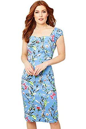 Joe Browns Damen Vintage Floral Dress with Milkmaid Sleeves Lässiges Kleid