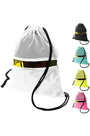 GlowPoke Rucksack mit Kordelzug, leicht, Netzstoff