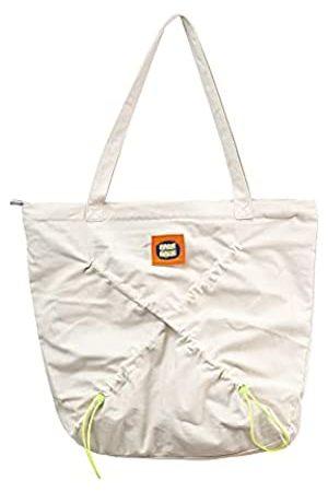 Lssxcys Canvas Tote Bag Große Kapazität Faltbare Tasche mit Reißverschluss Turnbeutel für Frauen Reisetasche