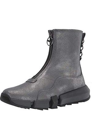 Diesel Damen Hybrid Sneaker, (Gunmetal)