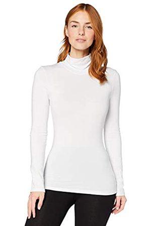 IRIS & LILLY Amazon-Marke: Damen dünnes, wärmendes Thermounterwäsche Oberteil mit Rollkragen , XS