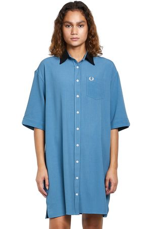 Fred Perry Oversized Shirt Dress