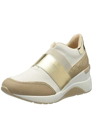 Maria Mare Damen 67613 Sneakers, (Points Blanco/Nobu Camel/Serpiente Nacar Champagne/Mirror Champagne C49729)