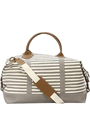 Tag&Crew Karma Stripe Signature Duffle Bag, groß, aus schwerem Canvas, Größe 38,1 x 71,1 x 25,4 cm
