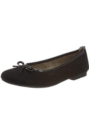 Soft Line Damen 22164 Geschlossene Ballerinas, (black)