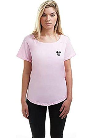 Disney Damen Mickey FACE EMB T-Shirt