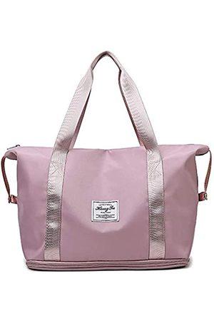 Barsine Reisetasche, extra groß, Nylon, erweiterbar, Wochenendgepäck