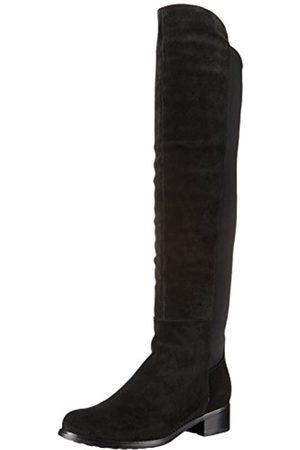 Blondo Women's Velma Waterproof Riding Boot, Black Suede