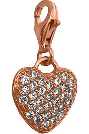 Thomas Sabo Damen-Charm Silber vergoldet Zirkonia weiß - 1021-416-14