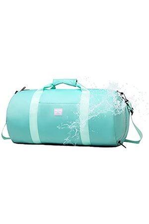 BE SMART Duffel Bag Leichte Wasserdichte Blaue Tasche Sport Fitness Schultertasche für Gym Reisen