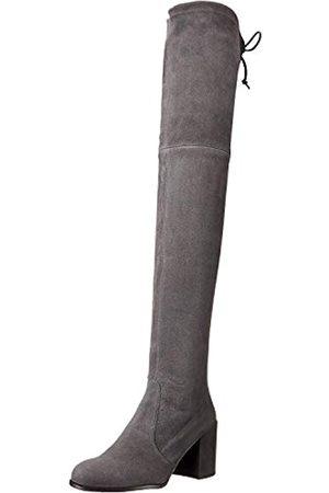 Stuart Weitzman TIELAND Overknee-Stiefel für Damen, (Schiefer-Wildleder)