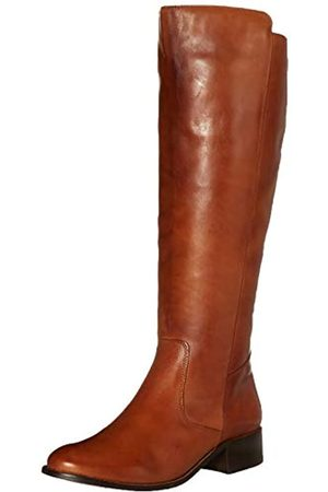 Driver Club USA Damen Leather Luxury High Top Riding Boot Kniehoher Stiefel