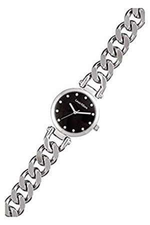 Louis Villiers Unisex Analog Quarz Uhr mit Edelstahl Armband AL2927-02
