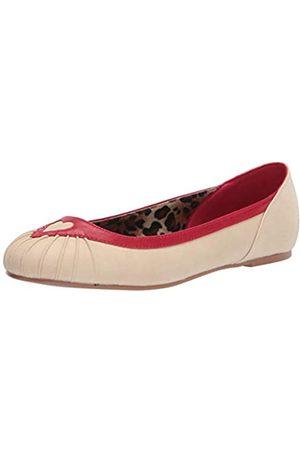 Bettie Page Damen-Ballerinas im Vintage-Stil