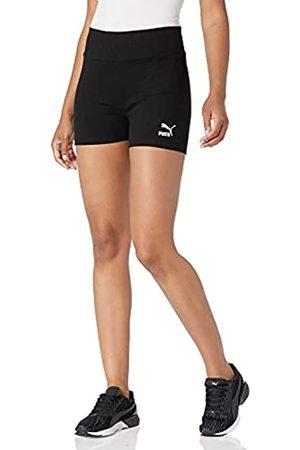 PUMA Herren Shorts - Herren Classics Rib Tights Shorts, Black