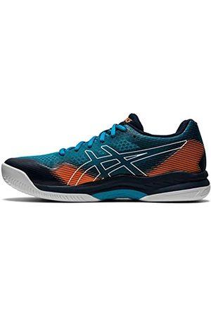 Asics Herren Gel Hunter 2 Indoor Court Shoe, Teal Blue/French Blue