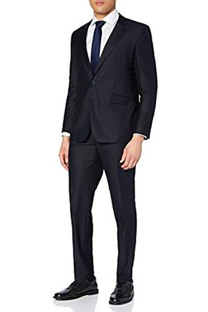BLUEBLACK Herren Slim Fit Anzug Lorenzo