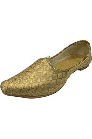 Stop n Style Herrenschuhe, Hochzeitsschuhe, formelle Sherwani-Schuhe, handgefertigt, Jooti, ethnische Jutti, Jutti