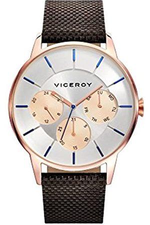 Viceroy Herren Multi Zifferblatt Quarz Smart Watch Armbanduhr mit Nylon Armband 471143-07