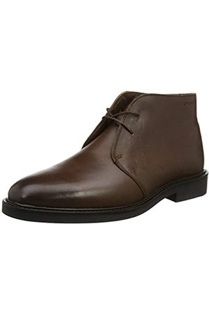 GANT Herren Spencer Chukka Boots, (Dunkelbraun)