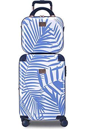 Chariot Travelware Park 2-teiliges Handgepäck-Set mit Trolley-Koffern (Blau) - CHP-903- 2-PC-FERN
