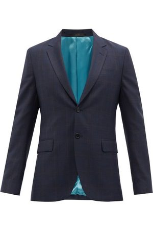 Paul Smith Check Wool-twill Suit Jacket