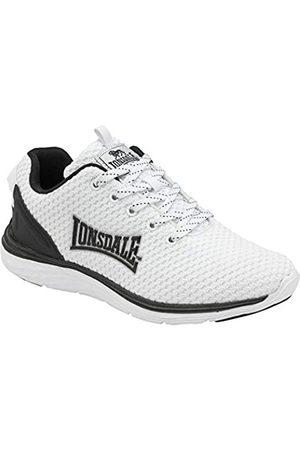 Lonsdale London Damen Silwick Road Running Shoe, White/Black