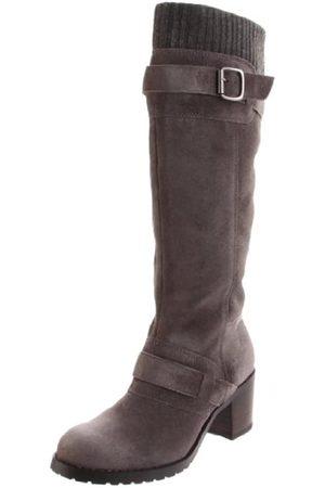 BC Footwear Damen World Atlas Kniehohe Stiefel, Braun