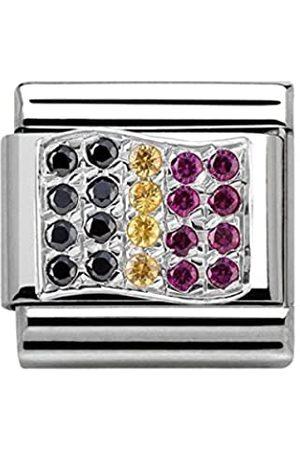 Nomination Damen-Charm Classic Composable 925 Silber Zirkonia - 330318/10