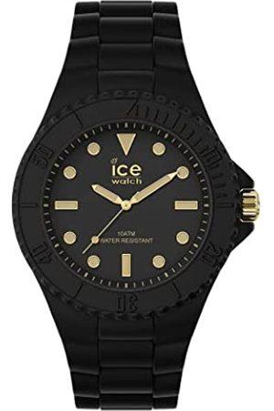 Ice-Watch ICE generation Black gold -e Damenuhr mit Silikonarmband - 019156 (Medium)
