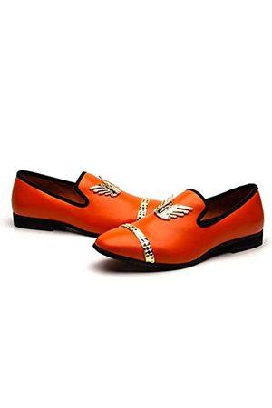 MEIJIANA Herren Slipper, Slipper für Hochzeit, Penny Fashion Party, Luxus Abschlussball, Prinz, Schuhe, ( /03)