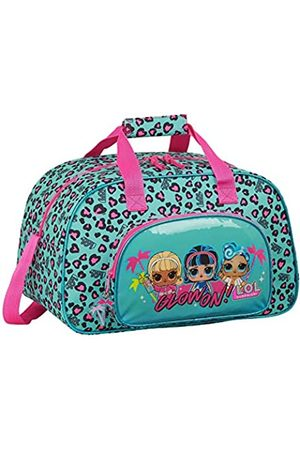 Safta LOL Surprise Sporttasche, Unisex, Kinder, Himmelblau/Pink