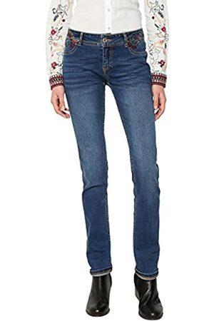 Desigual Damen REFRIPOSAS Slim Jeans