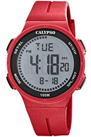 Calypso Unisex Digital Quarz Uhr mit Plastik Armband K5803/1