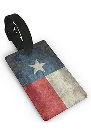 MSGUIDE Kleine Gepäckanhänger für Koffer, PVC, Reisetaschen-Anhänger zum Identifizieren von Namen