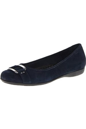 FrenchTrotters Women's Sizzle Flat,Dark Blue