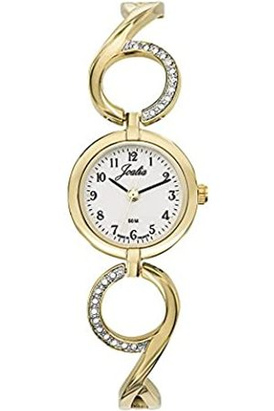 Joalia Damen Analog Quarz Uhr mit Messing Armband 630521
