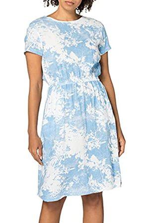 Timezone Damen Printed Basic Dress Lässiges Kleid