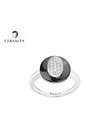 Ceranity Damen-Ring Sterling- 925 Zirkonia T 12/50-1 0095-N