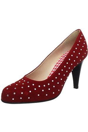Diavolezza Damen ELKE Peep-Toe, (Red)