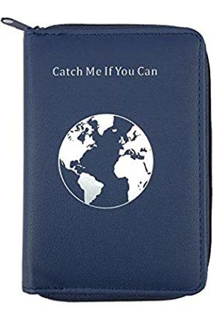 lovie style Reisepasshülle mit einzigartigem Reißverschluss – mehrere Farben und Reisezitate – RFID-blockierende Sicherheits-Reisebrieftasche – Halter Schutzhülle für Reisepässe, Karten
