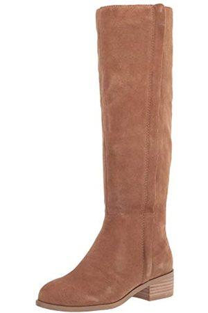 Splendid Damen Basic Kniehohe Bootie mit Außenschuhe IP Stiefel, (Dusty Brown)