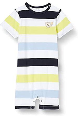 Steiff Baby-Jungen Spielanzug Nachthemd, Navy