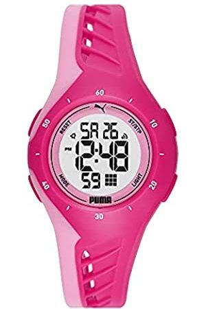 PUMA Unisex 3 LCD Polycarbonate Uhr