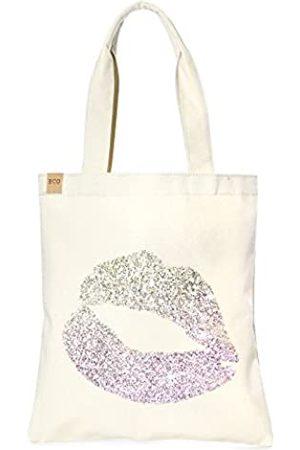 Me Plus Einkaufstasche aus Öko-Baumwollleinen, modisch bedruckt